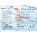 Valise pédagogique « jeux subaquatiques »